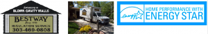 3 pictures Logo, Small Box Truck in Driveway, Home Performance with Energy Star