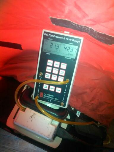 Blower Door Test & Manometer DG700